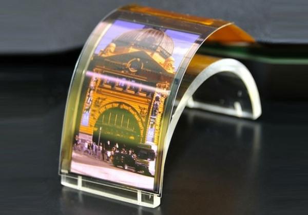 Дисплеи от Sharp толщиной с бумажный лист