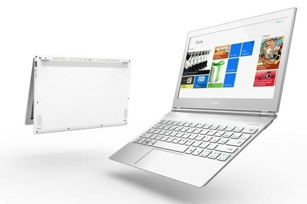Представлен ультрабук Acer Aspire S7 с сенсорным экраном и ОС Windows 8