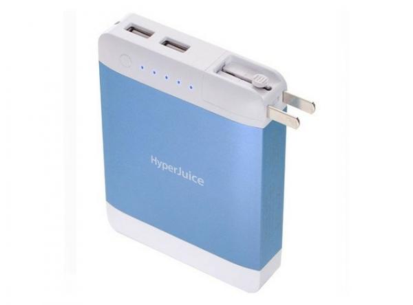 Портативный аккумулятор Sanho HyperJuice Plug