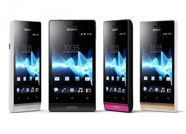 Andorid-смартфон Sony Xperia Miro