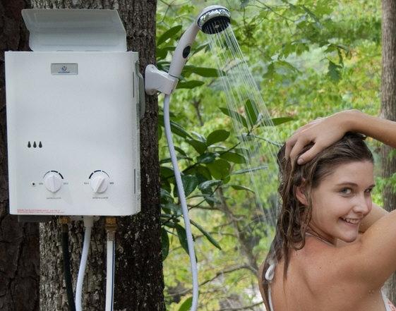 Портативный душ с водонагревателем Eccotemp L5 Portable Water Heater Shower