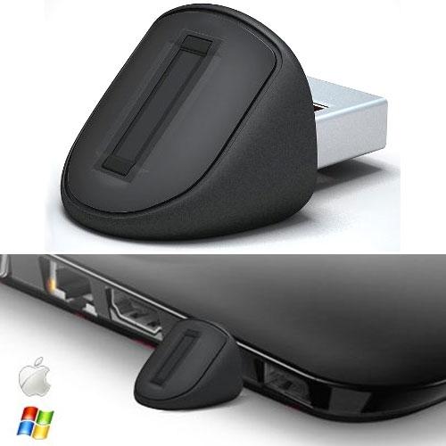 Миниатюрный сенсор отпечатков пальцев Authentec Eikon Mini