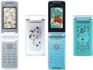 Hitachi выпускает телефон с e-ink-экраном