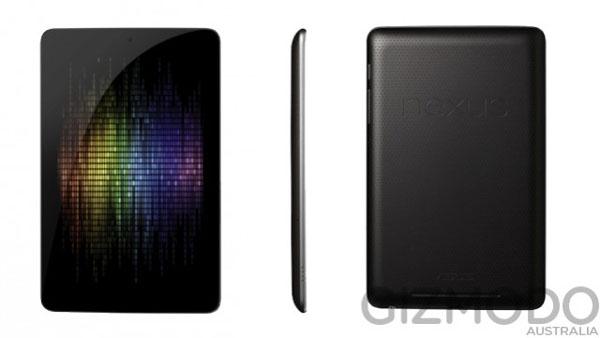 Спецификации планшета Google Nexus 7 от Asus