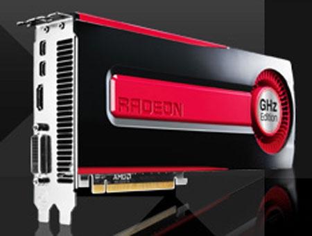 Самая быстрая видеокарта AMD Radeon HD 7970 GHz Edition