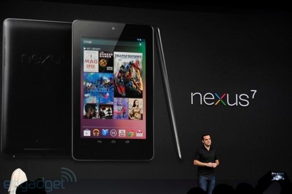Google официально представляет планшет Nexus 7 за 199 $ с Android 4.1 Jelly Bean