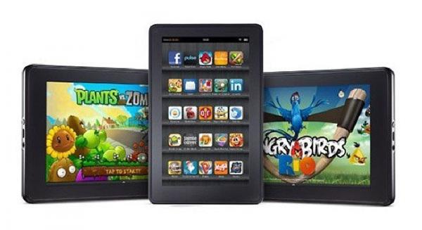 Amazon готовит планшет Kindle Fire второго поколения