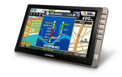 Новый GPS-навигатор Cowon N3