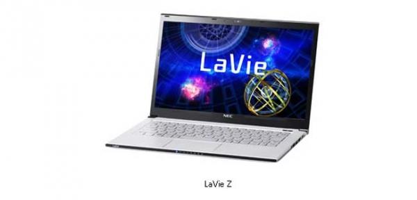 NEC LaVie Z – самый легкий в мире ультрабук
