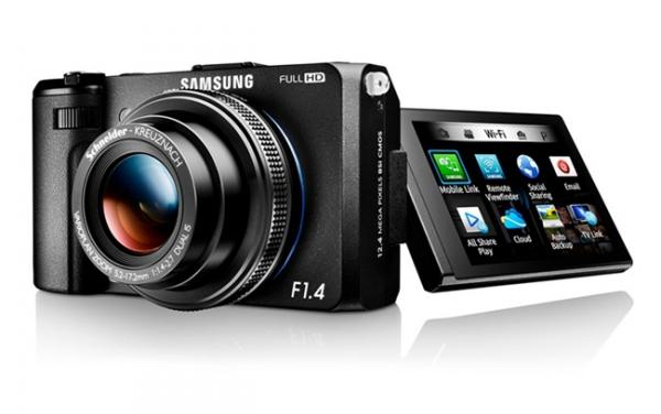 Светосильный цифрокомпакт Samsung EX2F