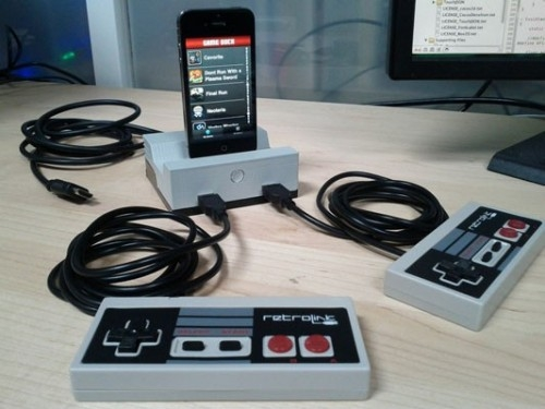 GameDock превратит iOS-девайс в игровую консоль