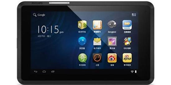Philips T7 Plus – бюджетный планшет с Android Ice Cream Sandwich