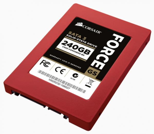SSD Corsair Force GS – большая скорость + большие объемы