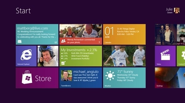 Финальная версия Windows 8 выйдет в октябре 2012