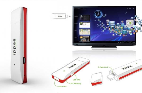 iPPea TV – мини-ПК на базе Android