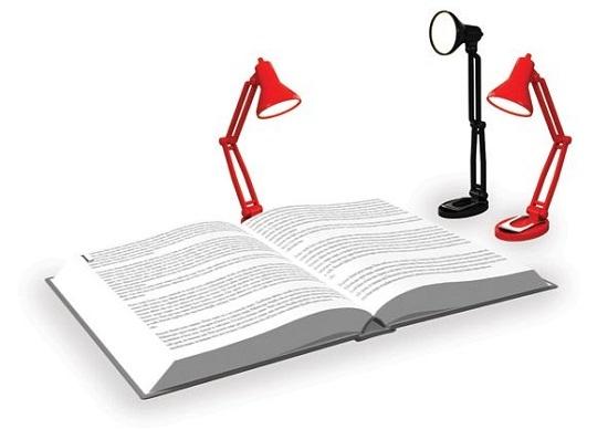 Мини-лампа для любителей ночного чтения Tiny Book Light