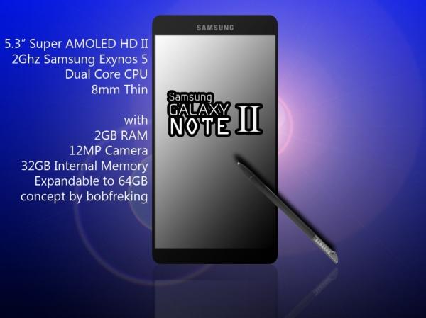 Samsung Galaxy Note 2 анонсируют 30 августа 2012 на Samsung Unpacked