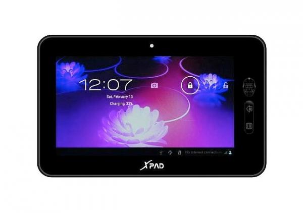 XPad – Android-планшет за 81 $