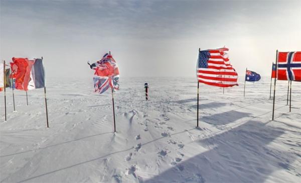 Google Maps представляет панорамные снимки Антарктиды