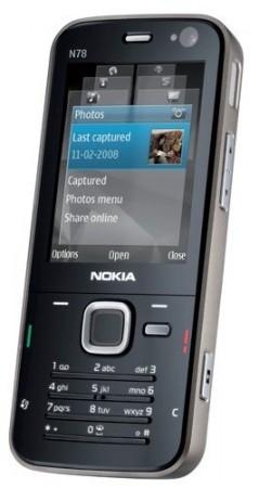 Тонкий смартфон Nokia N78