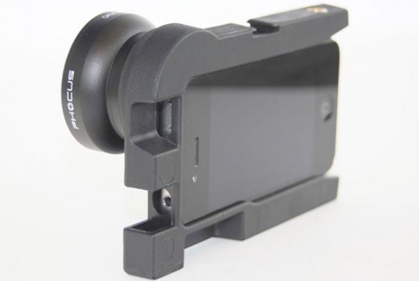 Phocus позволяет использовать сменные объективы с iPhone