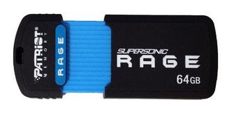 Patriot Supersonic Rage XT – флешка с интерфейсом USB 3.0