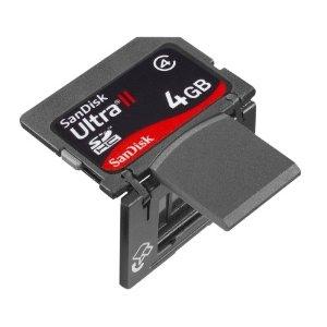 SD-карта со встроенным USB-коннектором