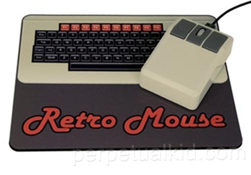 Компьютерная мышь в стиле ретро