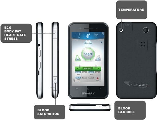 LifeWatch V – смартфон для тех, кому нужно следить за здоровьем