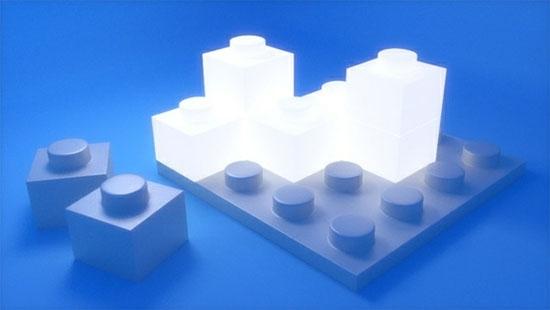 Светящиеся Lego-кирпичики с беспроводной передачей электричества