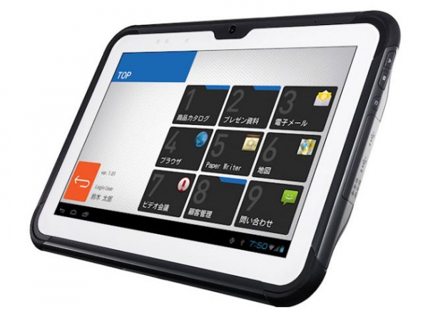 Прочный Android-планшет Casio V-T500