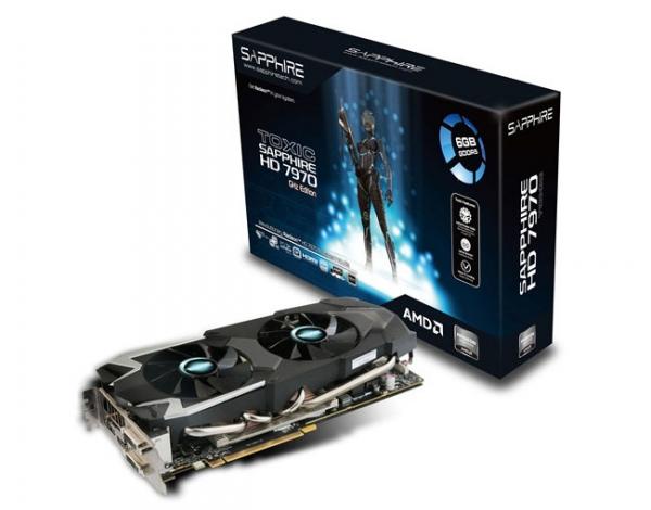 Sapphire выпустила видеокарту Toxic HD 7970 GHz Edition с 6 ГБ видеопамяти