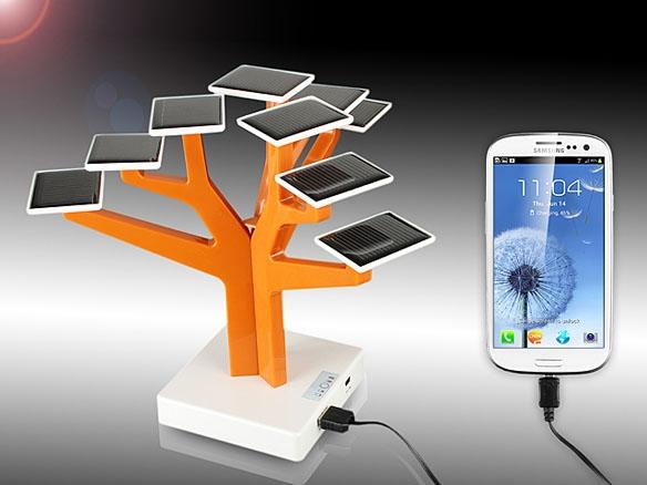 «Солнечное» дерево USB Solar Charger Tree