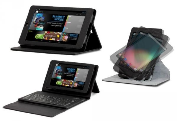 Для планшета Nexus 7 выпустили Bluetooth-клавиатуру и два чехла