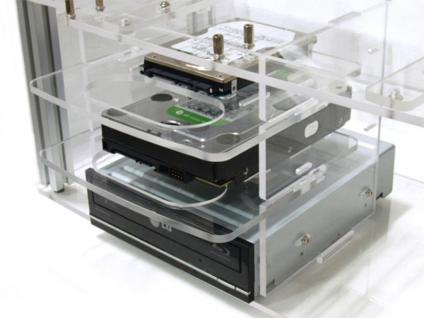 Прозрачный компьютерный корпус Scythe Open-Air PC Case