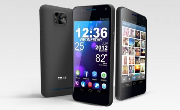 BLU Products Vivo 4.3 – Android-смартфон с двумя SIM-картами