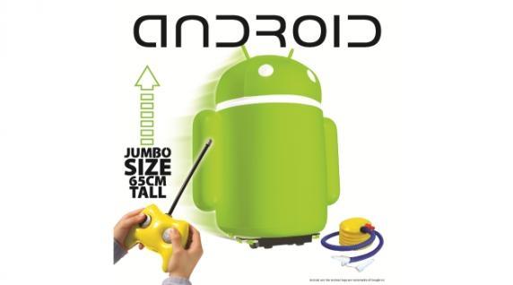 Надувной радиоуправляемый Android