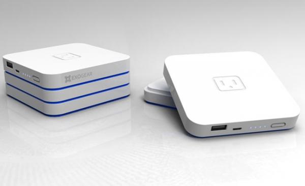 Exogear Exovolt Plus – портативный аккумулятор с возможностью наращивания емкости