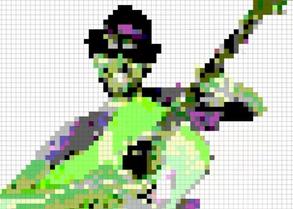 Настоящее безумие: Мозаичное видео в ячейках Excel