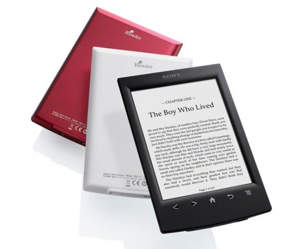 Новая читалка Sony Reader PRS-T2