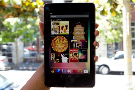 Google Nexus 7 будет продаваться в России в начале сентября
