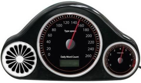 USB WPM Speedometer – клавиатурный спидометр