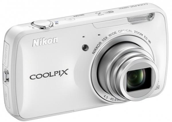 Nikon выпускает первый фотоаппарат-смартфон Nikon Coolpix S800c