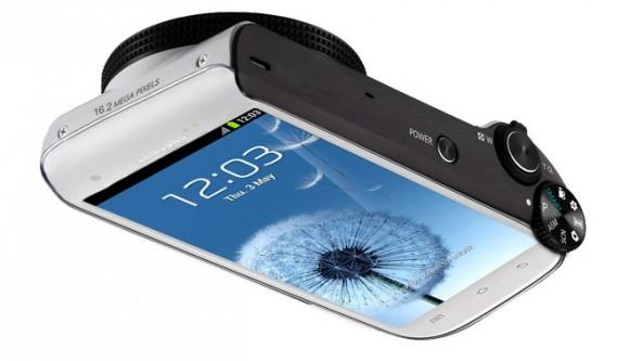 Samsung Galaxy S Camera — это миф или реальность?