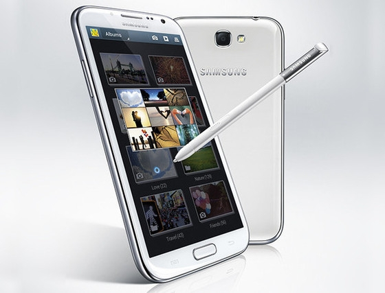 Samsung представляет Galaxy Note 2 на IFA