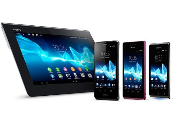 Компания Sony анонсировала три новых смартфона и планшет