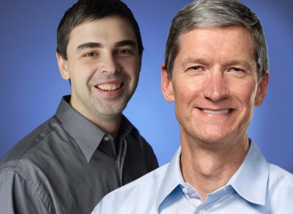 Компании Google и Apple решили помириться