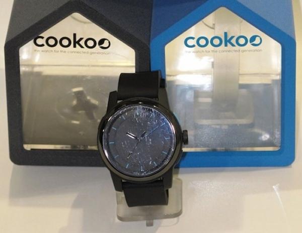 Cookoo Watch – часы со стрелками для смартфона