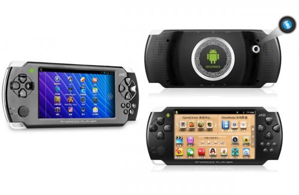 JXD S602 – клон PSP с Android 4.0