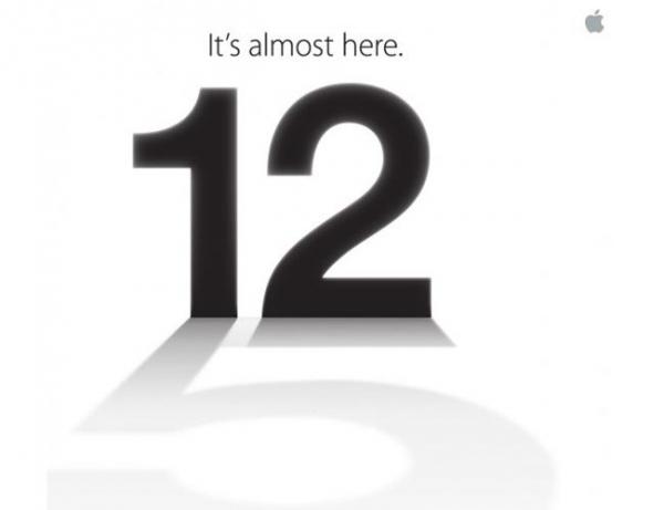 «Он уже совсем рядом»: запуск Apple iPhone 5 намечен на 12 сентября